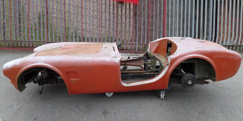 Cobra bodyshell as found